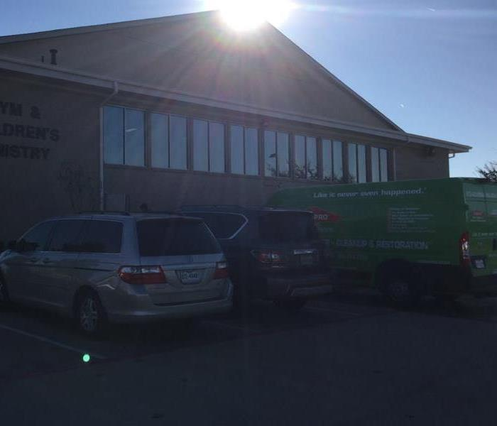 SERVPRO responds to local Church that Flooded