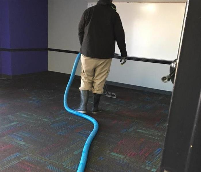 Water Damage to Recreation Center