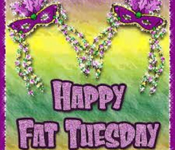 Community Happy FAT TUESDAY