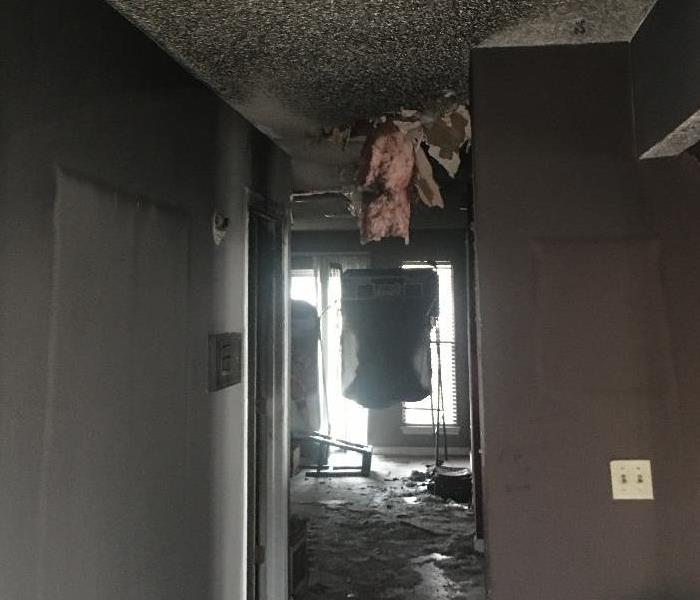 Why SERVPRO When Fire Damage happens to your home